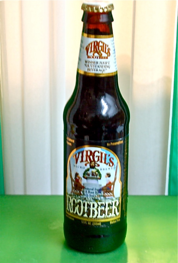 Virgil's all natural Root Beer