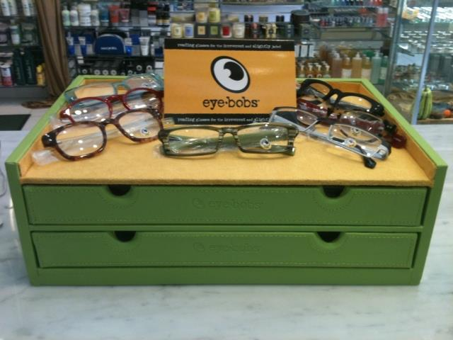 eyebobs display at Thompson Alchemists