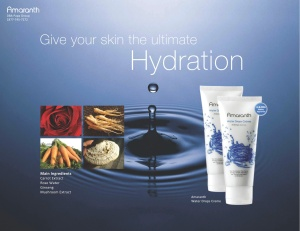 Amarnath water drop cream is suitable for all skin types Watch real water drops form on your skin