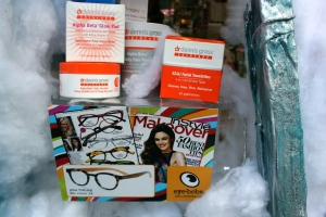 Dr. Dennis Gross Skincare & Eye Bob reading glasses are two great new brands that you can find at Thompson Alchemists in Soho NYC