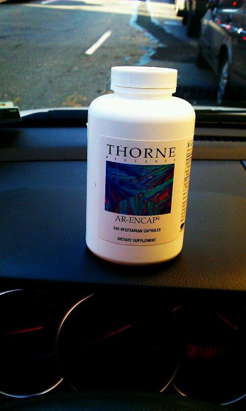 Thorne vitamins in Soho