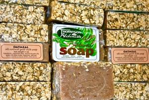 oatmeal and goats milk soap