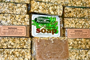 oatmeal and goats milk soap