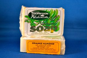 Thompson Alchemists Soap: Orange Almond