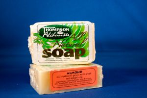Thompson Alchemists Soap: Almond
