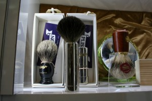 Joris and Pisson shaving brushes are made of 100% pure badger hair