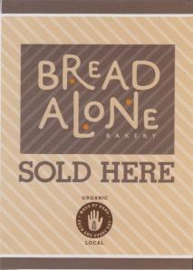 Bread Alone Bakery