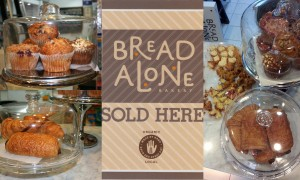 Bread Alone organic pastries available at Thompson Alchemists