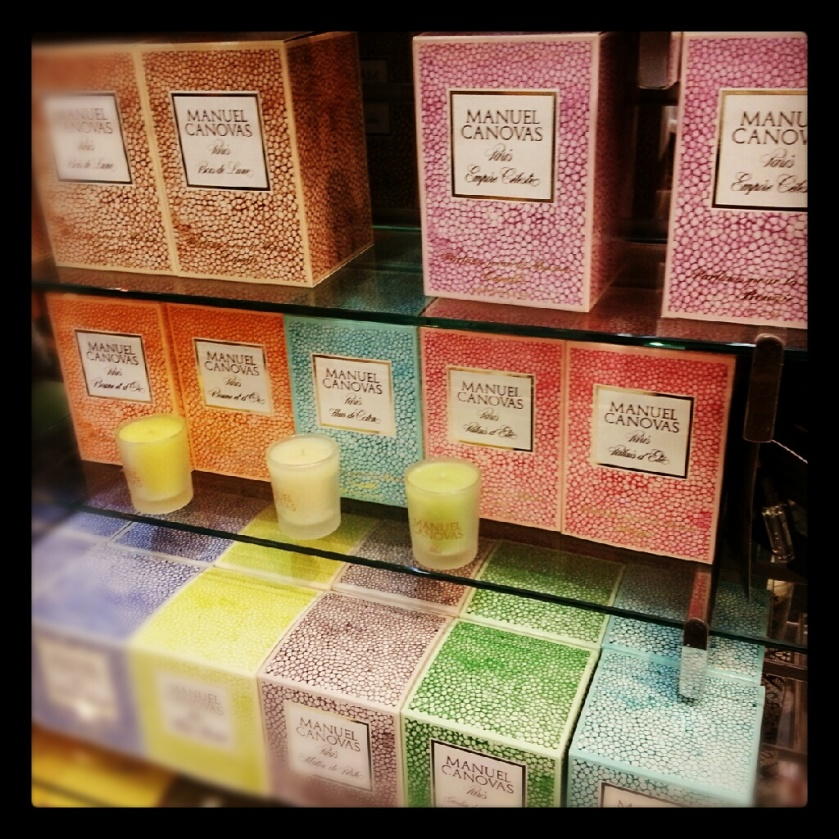 Manual Canovas scented candles