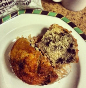 Morning muffin from bread alone