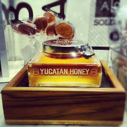 Yucatan Honey is packaged in a beautiful glass jar made by the same bottlers as Patron tequila
