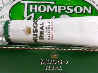 Musco Real Shaving Cream for men