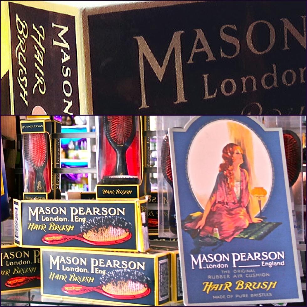 Mason Pearson hair brush