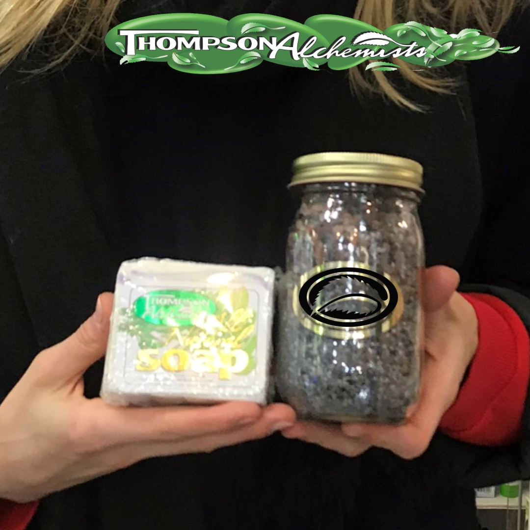 Thompson Alchemists soap and therapy salt